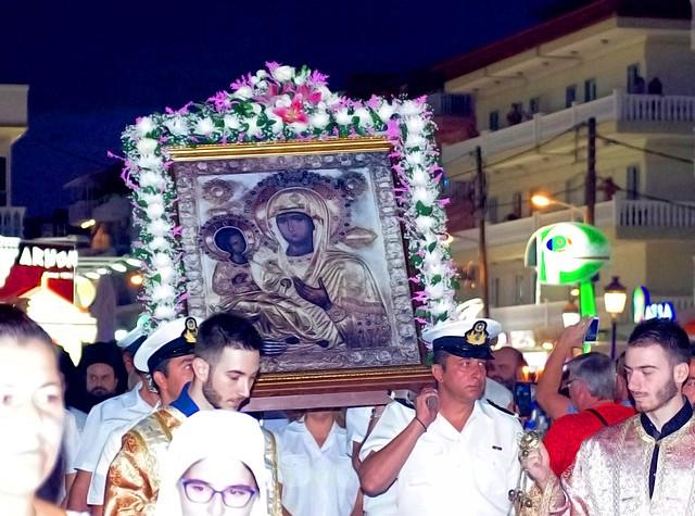 Εορτασμό της Παναγίας στην Παραλία