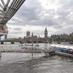 London Eye and Westminster