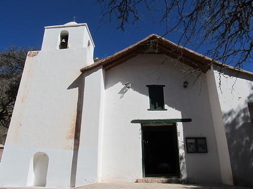 Purmamarca: la Iglesia de Santa Rosa