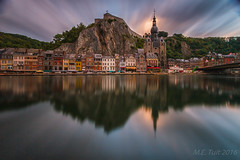 Long exposed Dinant @ Belgium