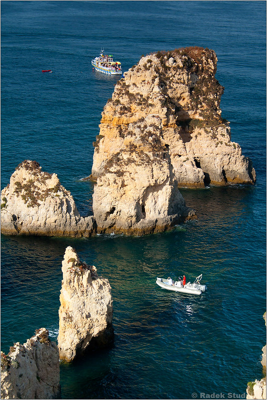 Skały Algarve