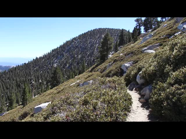 546 Panorama video from high on the San Jacinto Peak Trail