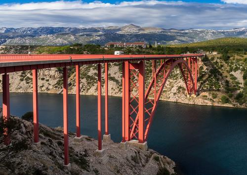 sunset zadar croatia sea bridge sky travel jasenice zadarskažupanija hr