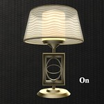 Classic Table Lamp A 3D Model