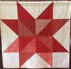 Twinkle Twinkle Scrappy Star, 68x68 inch quilt, 2016