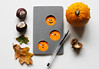 Halloween pumpkin Moleskine notebook