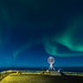 North Cape and the Northern Lights by kjellbendik