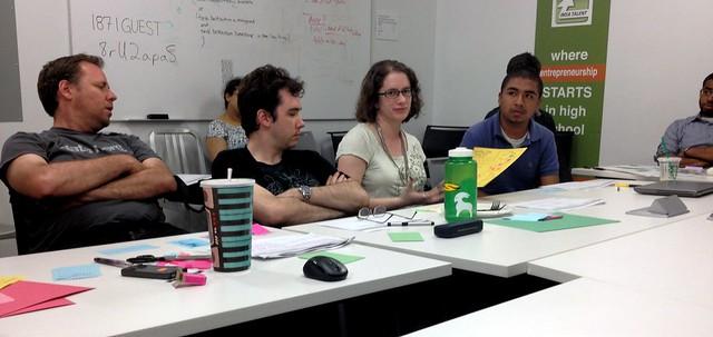 More hacking at the design workshop
