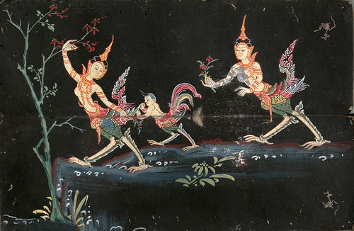 001-Libro de poesía Tailandesa- Segunda Mitad siglo XIX- Biblioteca Estatal de Baviera