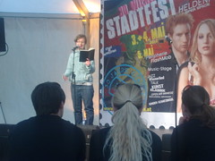 Lina Madita - textstrom Poetry Slam goes Stadtfest Wien