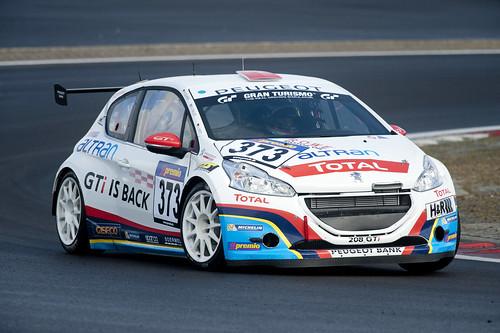 Peugeot Sport 208 GTI 2013 Nürburgring