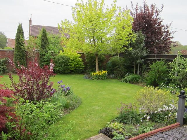 spring garden May 2013