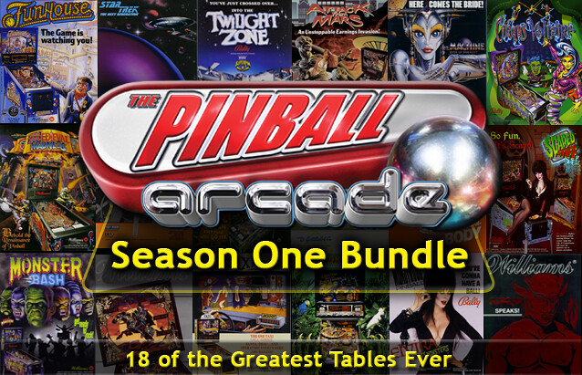 The Pinball Arcade: Season One Bundle