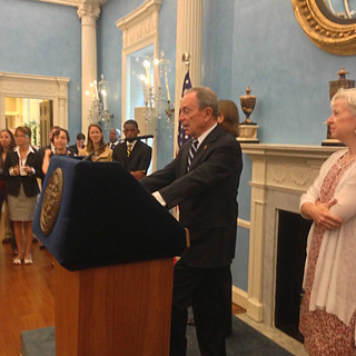 Mayor Bloomberg announces CATP innovation finalist