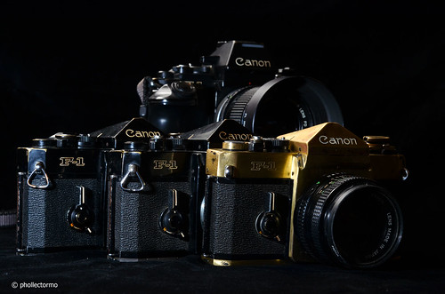 canon f1 & f1n by phollectormo