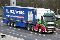 Volvo FH 6x2 Tractor - PX11 BYF - Edith Danni - Eddie Stobart - M1 J10 Luton - Steven Gray - IMG_4845