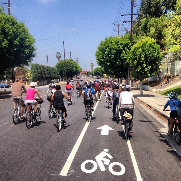 Go bikes!