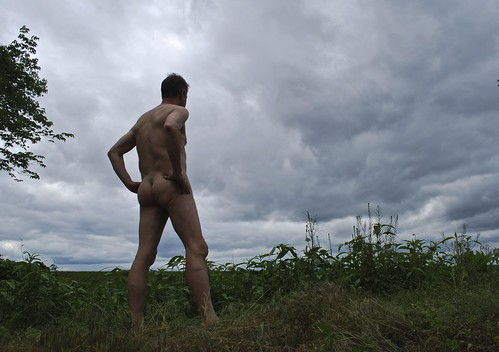 Naked against the sky