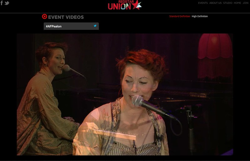 The Amanda Palmer Salon | REDSTAR UNION