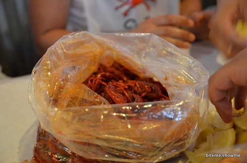 The Boiling Crab - 1 Pound of Crawfish