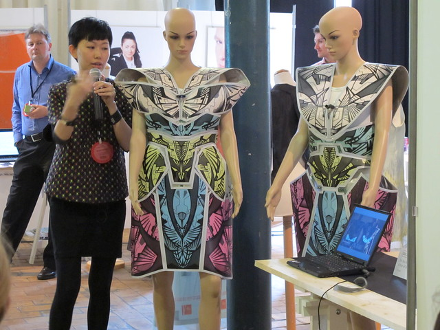 Smart Textiles Salon - Do You Feel Me? A Pair of Illuminative Smart Fashion by Jin Lam of Institute of Textiles & Clothing, The Hong Kong Polytechnic University