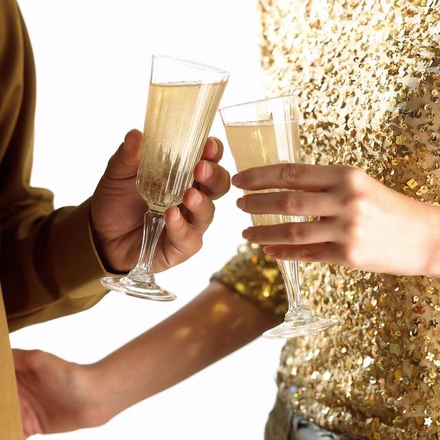 Champagner Glamour