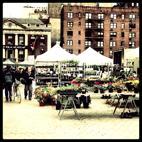 #unionsquare #parks #greenmarket by ShellyS