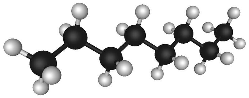 Octane, a component of petroleum,