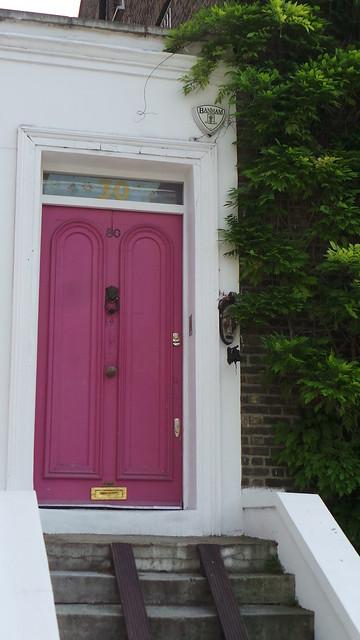 Pinke Tür