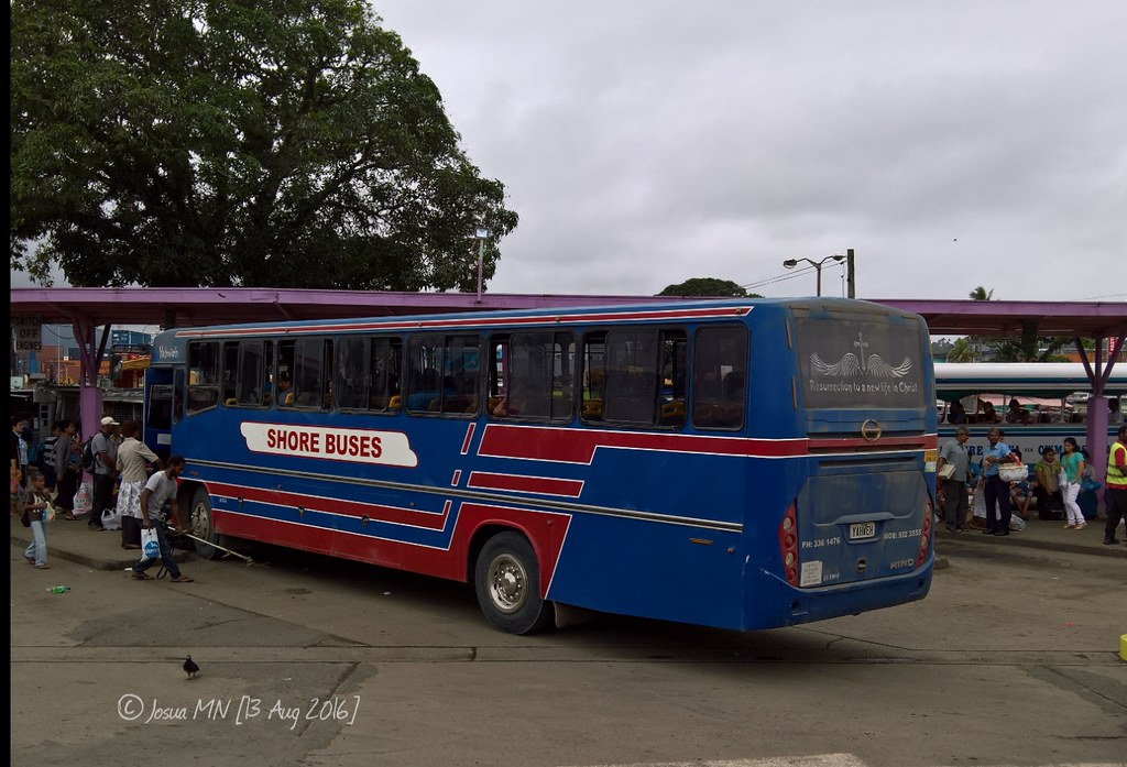 Shore Buses YAHWEH | Shore Buses' YAHWEH, Suva bus stand, 13