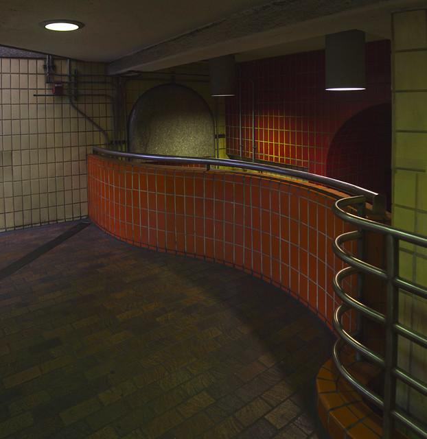 at State Street T station; Boston (2016)