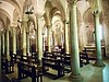 Saint Nicholas' crypt (after 1097) with 28 columns - Cathedral of Trani / Puglia