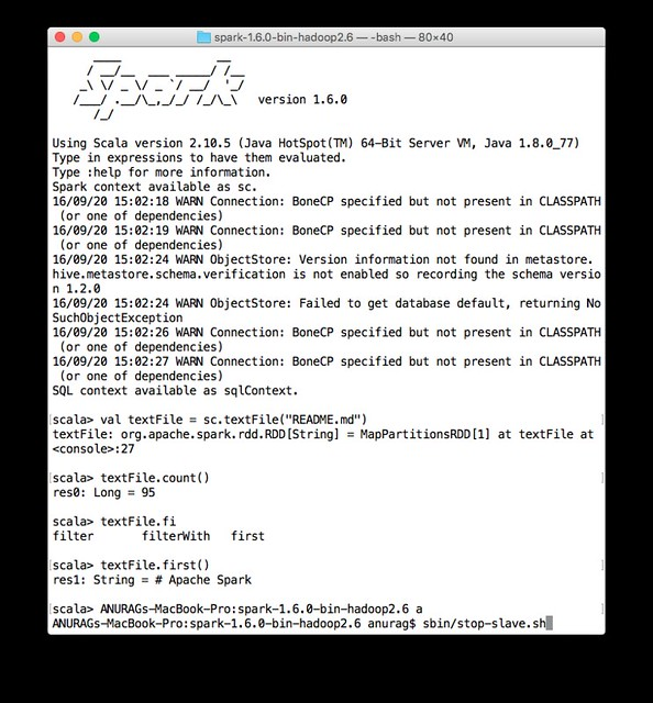Install Spark to Local Cluster at 4.37.28 PM