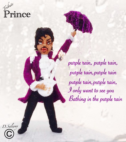 #knitted #doll #dolls #prince #singer #songwriter #performer #purplerain #therevolution #icon #celeb