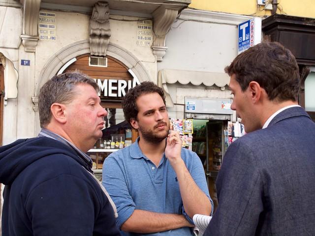 Lorenzo, Michele e Riccardo