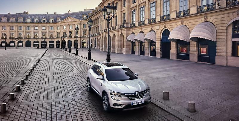 Шикарный Renault Koleos Initiale Paris