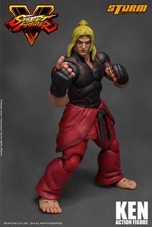 Storm Collectibles - 《快打旋風5》肯 KEN ストリートファイターV ケン アクションフィギュア
