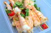 Chinese Skewered Salt & Pepper Squid