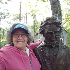 Walden Pond selfie. #thoreau #walden