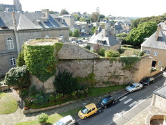 Old Avranches town walls