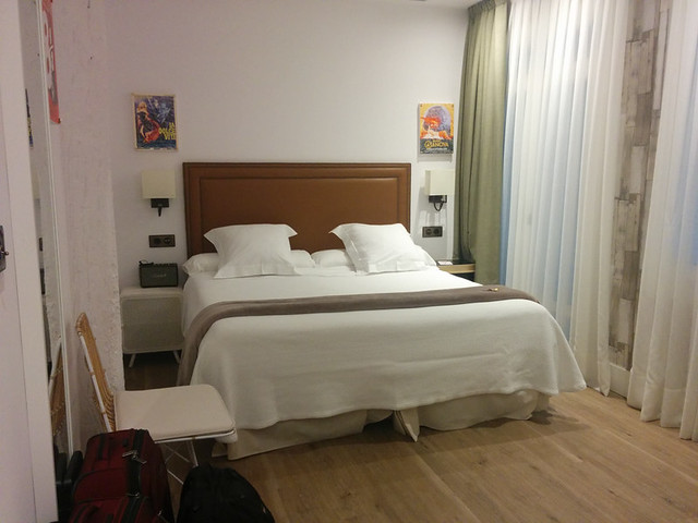 our room - bed