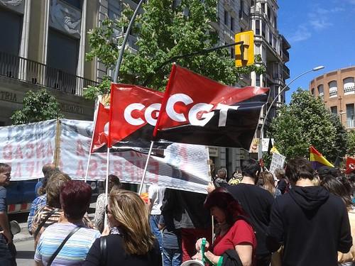 Manifestació a #girona 1 de maig 2013 #1maig2013 #1demayo #1maigCGT
