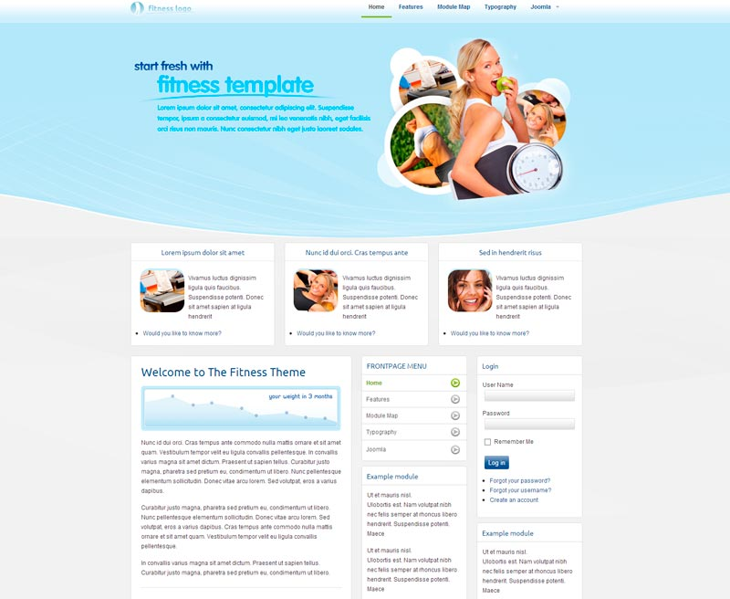 fitness-template