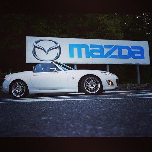 MAZDA MINE PROVING GROUND #mazda #roadster #mx5 #miatanc #miatalife #mx5life #zoomzoom #lovecars #squaready #mine #yamaguchi