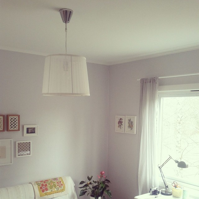 New lamp.