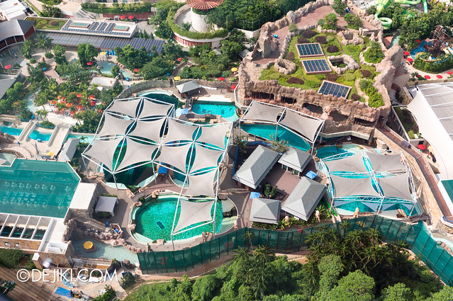 Marine Life Park Singapore - from the air May 2013 - Dolphin Island 2