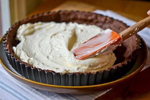 Chocolate-Strawberry Cream Cheese Tart-3