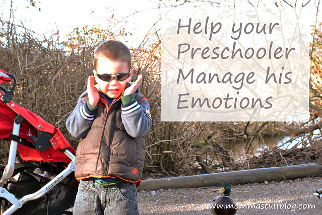 Help Your Toddler Manage His Emotions