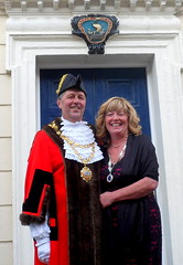 Mayor Cllr Jim Lindop and Mayoress Sue Lindop