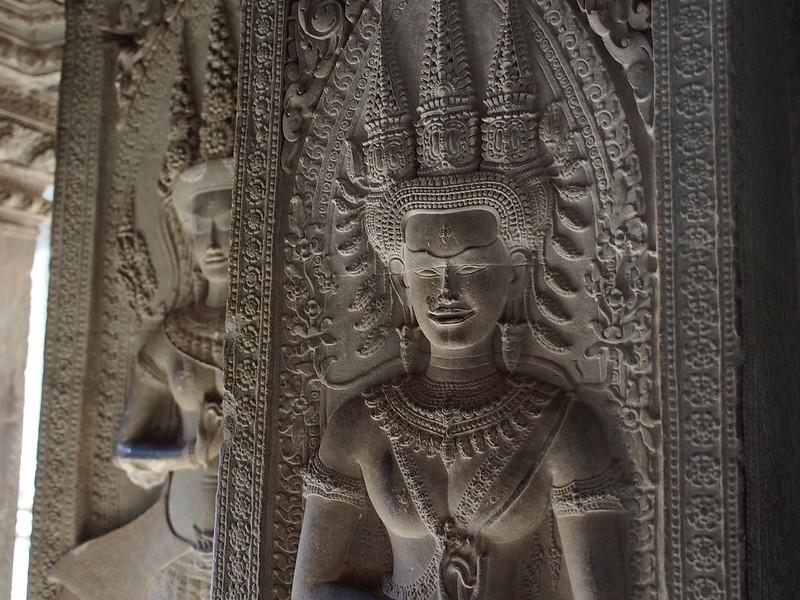 Apsaras at Angkor Wat - 3rd Corridor